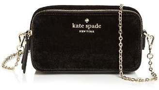 Kate Spade Thompson Street Holly Small Velvet Crossbody