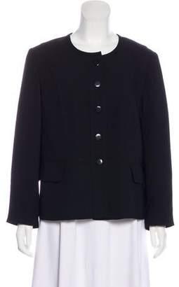 Pendleton Collarless Long Sleeve Jacket