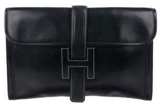 Hermes Vintage Jige Clutch