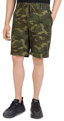 The Kooples Camouflage Drawstring Shorts