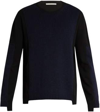 Stella McCartney Crew-neck cashmere and wool-blend sweater