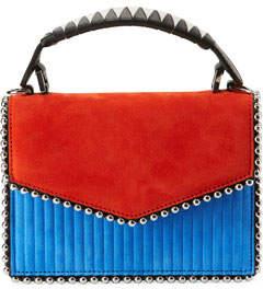 Les Petits Joueurs Lulu Colorblock Top Handle Bag