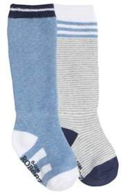 Infant Boys' Cool Blue Baby Socks (9 Pairs).