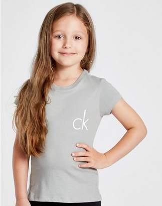 0607313d2d76 Calvin Klein Girls  2 Pack Modern Cotton T-Shirts Children