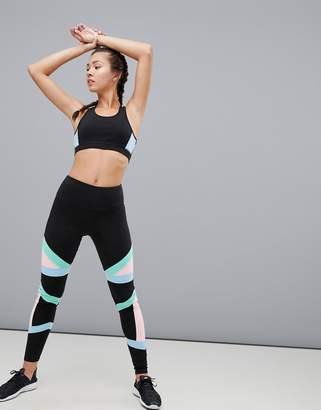 South Beach Colourblock Bandage Legging
