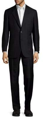 BrioniTextured Wool-Blend Suit