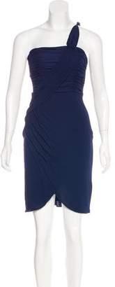 Temperley London Pleated Knee-Length Dress