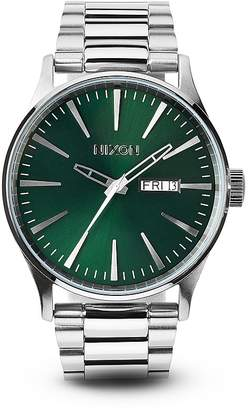 Nixon The Sentry Stainless Steel Watch, 42mm