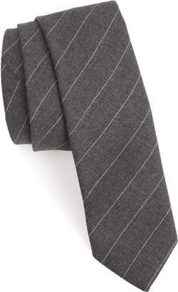 Eleventy Stripe Wool Tie