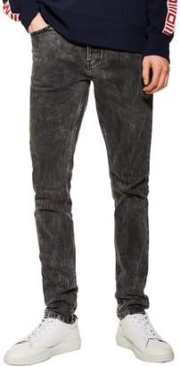 Topman Lightning Skinny Fit Stretch Jeans