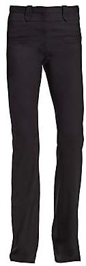 Altuzarra Women's Serge Flared Stretch-Wool Pants