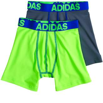 adidas Boys 2-pack Performance Boxer Briefs