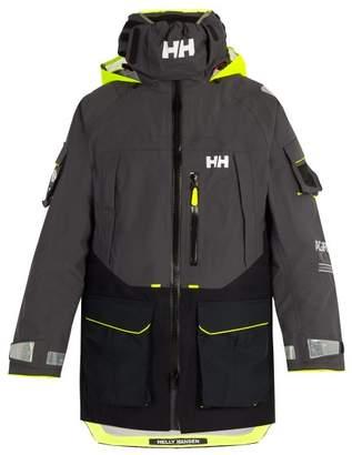 Helly Hansen Aegir Ocean Hooded Jacket - Mens - Black Multi