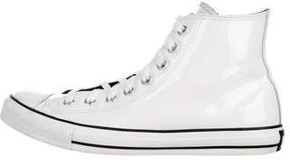 Converse Patent Leather High-Top Sneakers w/ Tags