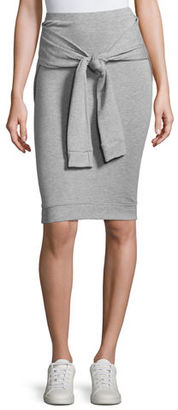 Bailey 44 Beam Seas Tie-Front Sweater-Knit Skirt $148 thestylecure.com