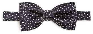 Paul Smith Star Print Silk Pre-Tied Bow Tie