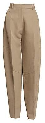Victoria Beckham Women's High-Waisted Paneled Trousers