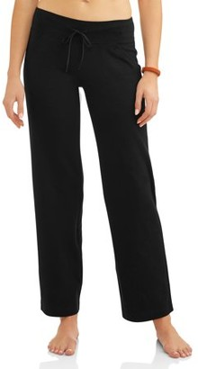 Athletic Works Women's Petite Dri-Works Core Relaxed Fit Workout Pant