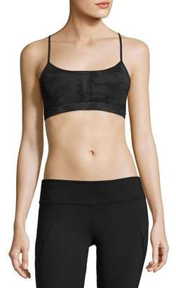 Vimmia Alicia Strappy-Back Low/Mid-Impact Sports Bra, Black