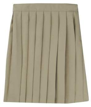French Toast Little Girl's Pleated Skirt