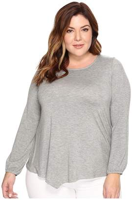 Bobeau B Collection by Plus Size Milla Top Women's Clothing