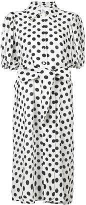 Lisa Marie Fernandez polka shirt dress
