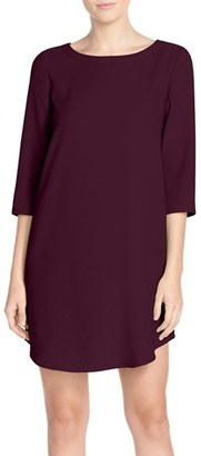 Women's Bb Dakota 'Jazlyn' Crepe Shift Dress $88 thestylecure.com