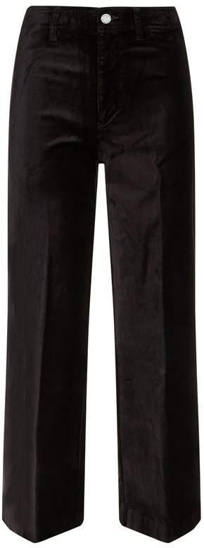 Denim Nellie Culotte Velvet Jeans
