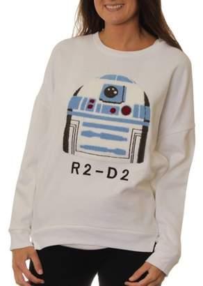 Star Wars Juniors' Hi-Low Sweatshirt with Chenille Patch