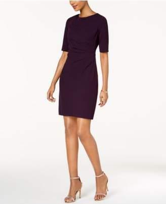 Betsey Johnson Draped-Front Sheath Dress
