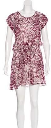 IRO Sleeveless Printed Dress