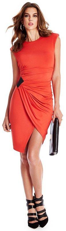 GUESS by Marciano Nanette Asymmetrical Dress