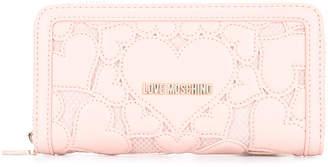Love Moschino hearts wallet