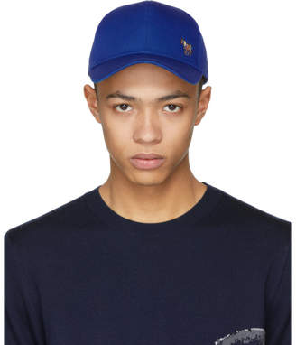 Paul Smith Blue Zebra Cap