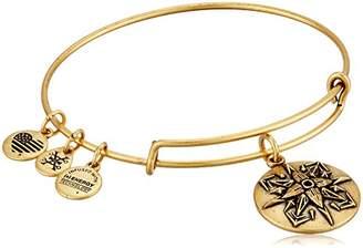 Alex and Ani Healing Love Expandable -Tone Bangle Bracelet