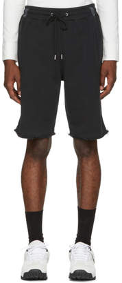 Helmut Lang Black Washed Shorts