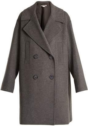 Stella McCartney Imelda oversized double-breasted wool-blend coat