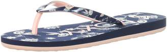 Roxy Girls' RG Pebbles V 3 Point Flip-Flop