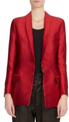 Haider Ackermann Hourglass Silk-Blend Jacket