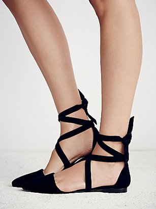 Free People Hyde Wrap Flat $138 thestylecure.com