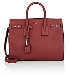 Saint Laurent Women's Small Leather Sac De Jour - Red