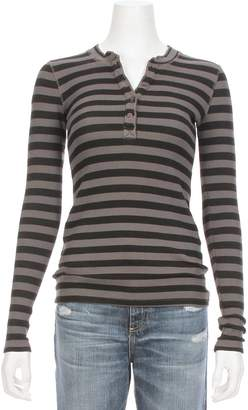 Stateside Striped Thermal Henley