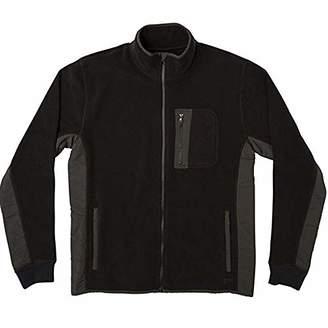 RVCA Men's THEROS Fleece Zip Jacket