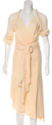 Rodarte Silk Midi Dress