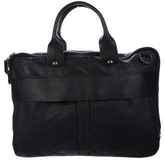 Rag & Bone Leather-Trimmed Messenger Bag