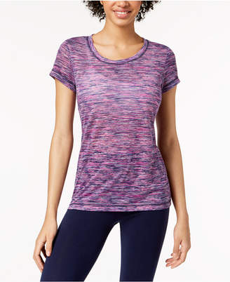 Ideology Space-Dyed Keyhole T-Shirt, created for Macy's