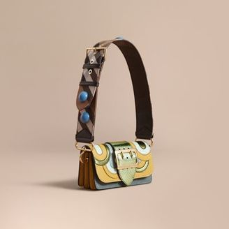 Burberry The Small Buckle Bag in Leather and Snakeskin Appliqué $2,495 thestylecure.com