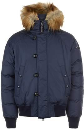 Ralph Lauren Purple Label Faux Fur Collar Jacket