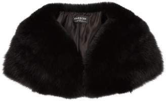 Harrods Wide Fox Fur Collar