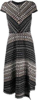 Paule Ka woven midi dress